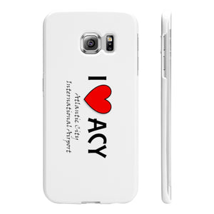 ACY Heart Wpaps Slim Phone Cases