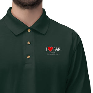 FAR Heart Men's Jersey Polo Shirt