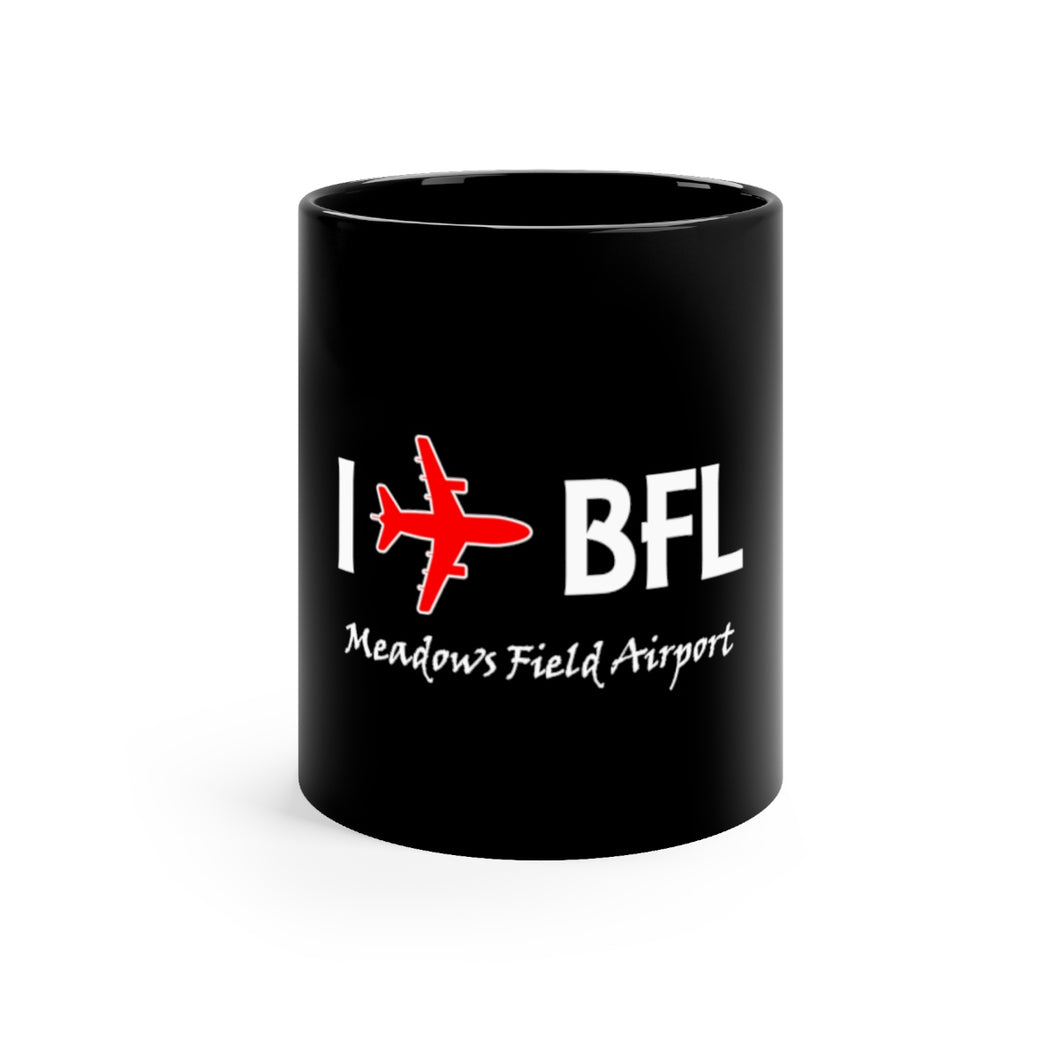 I Fly BFL Black mug 11oz