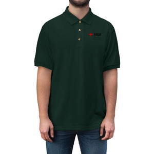 Fly HGR Men's Jersey Polo Shirt