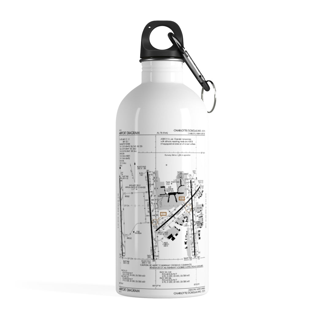 CLT Stainless Steel Water Bottle