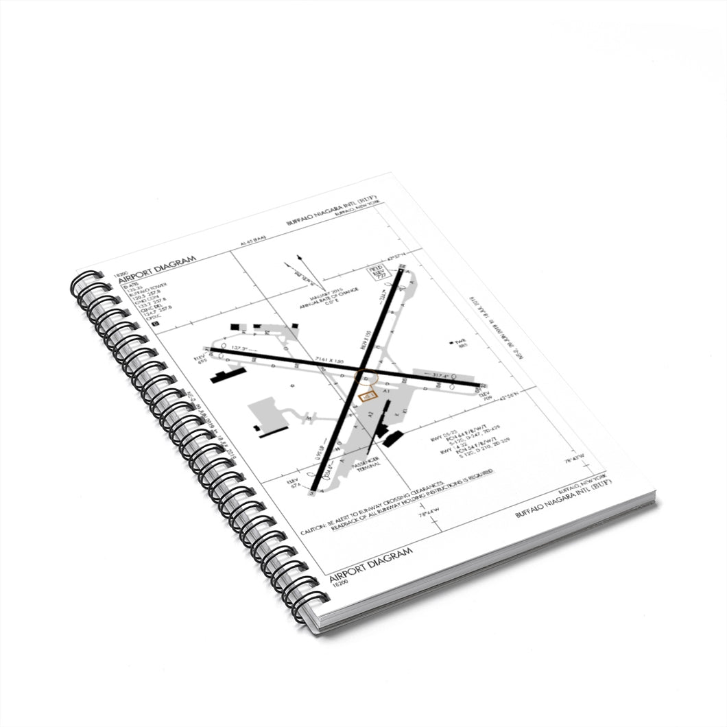 BUF Spiral Notebook - Ruled Line
