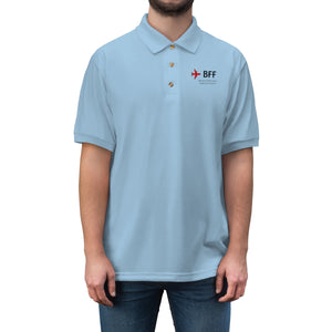 Fly BFF Men's Jersey Polo Shirt