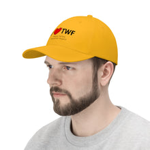 Load image into Gallery viewer, TWF Heart Unisex Twill Hat