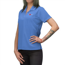 Load image into Gallery viewer, ACY Heart Women's Polo Shirt