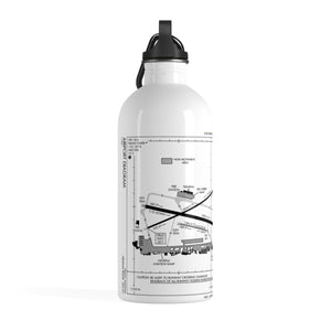 HLN Diagram Stainless Steel Water Bottle