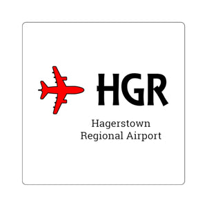 Fly HGR Square Stickers