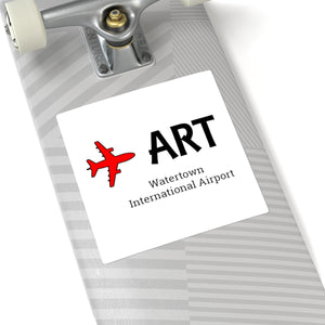 Fly ART Square Stickers