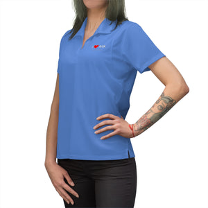 ACK Heart Women's Polo Shirt