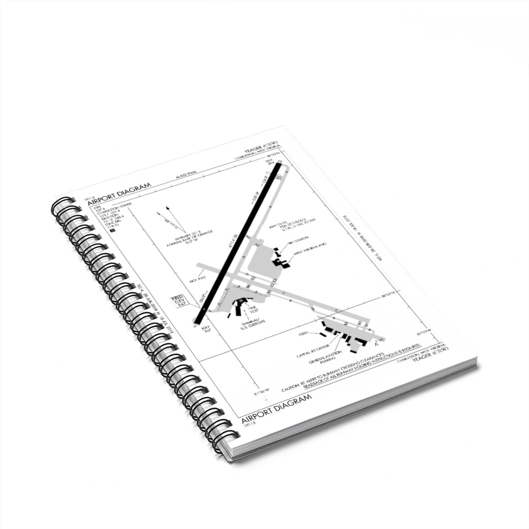 CRW Spiral Notebook - Ruled Line
