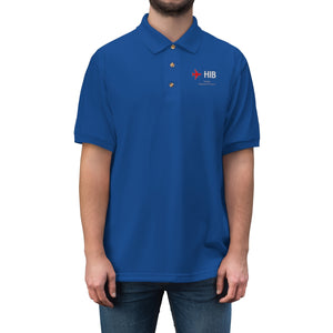 Fly HIB Men's Jersey Polo Shirt