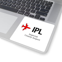 Load image into Gallery viewer, Fly IPL Square Stickers