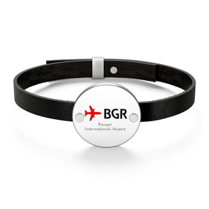 Fly BGR Leather Bracelet