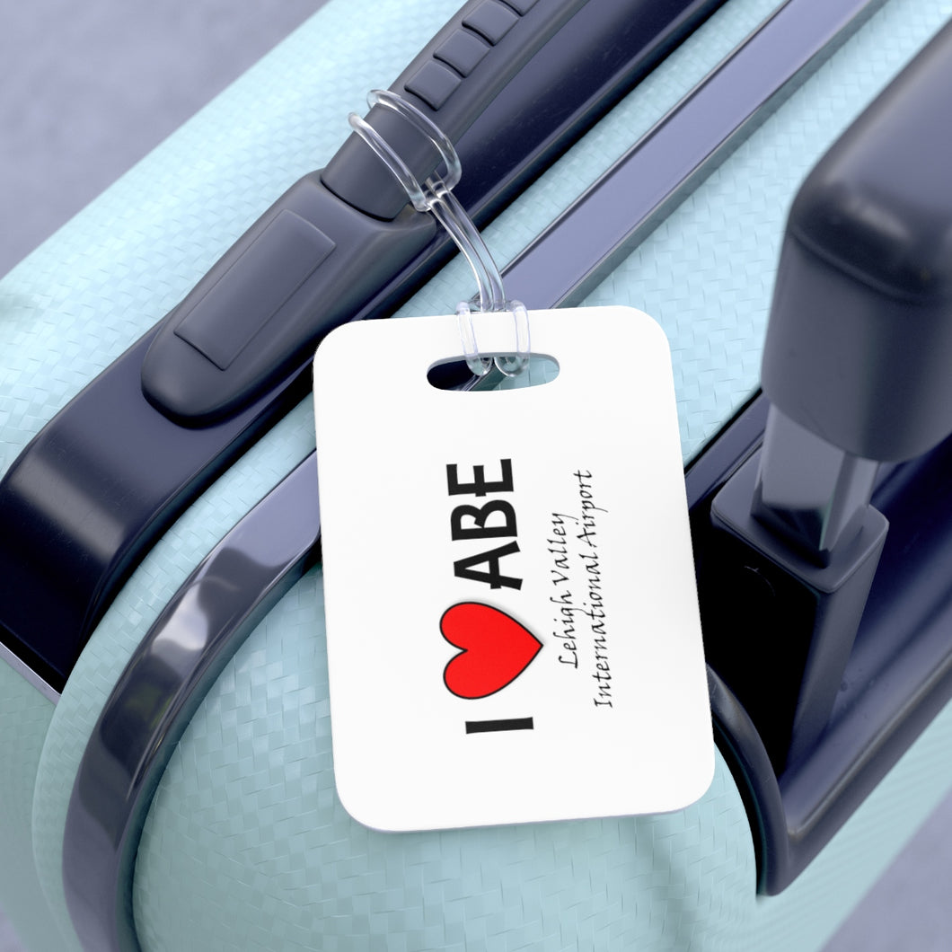 ABE Heart Bag Tag