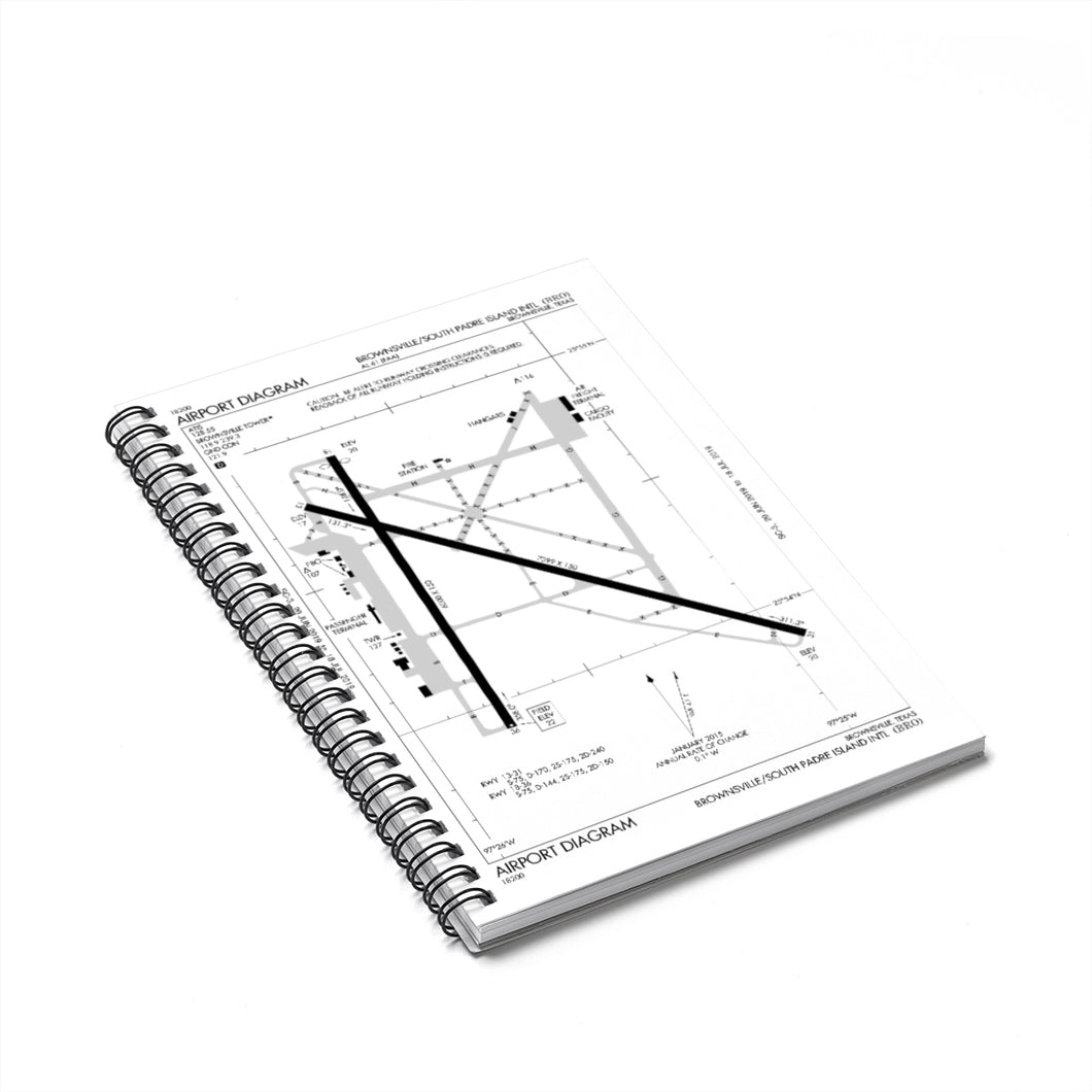 BRO Spiral Notebook - Ruled Line