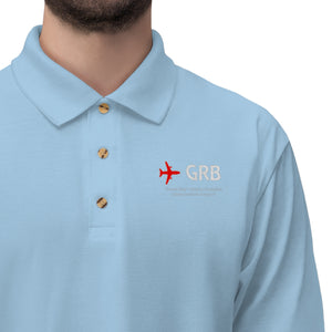 Fly GRB Men's Jersey Polo Shirt