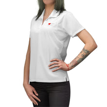 Load image into Gallery viewer, ABY Heart Women's Polo Shirt