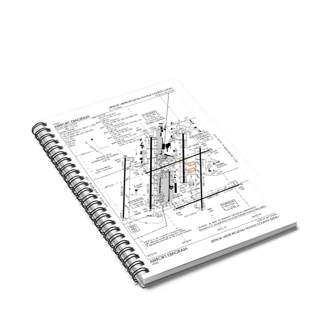 DTW Spiral Notebook - Ruled Line