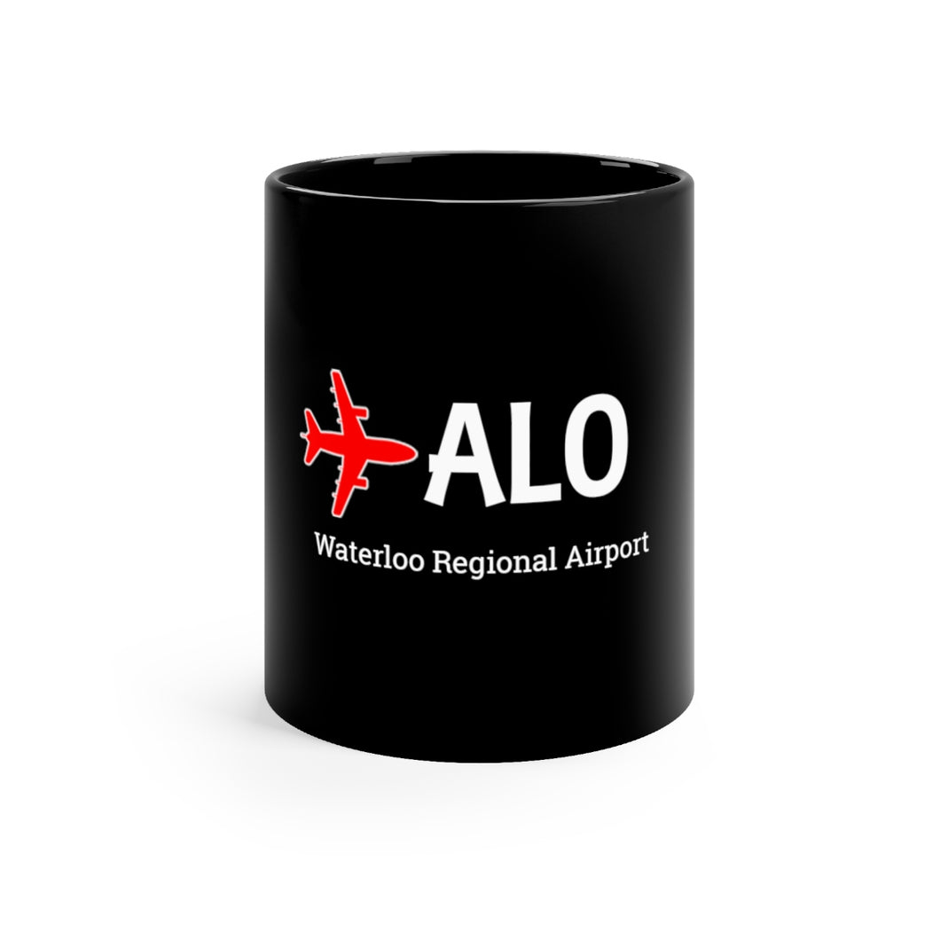 Fly ALO Black mug 11oz