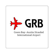 Load image into Gallery viewer, Fly GRB Square Stickers