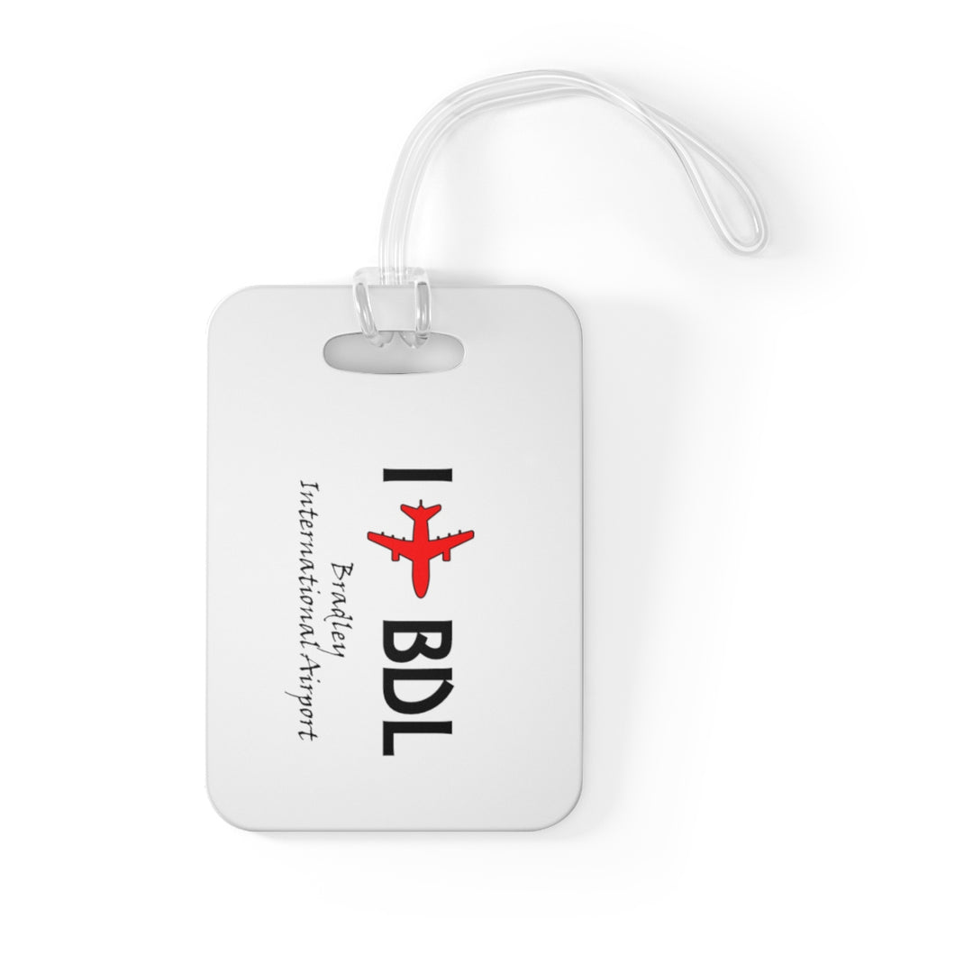 I Fly BDL Bag Tag