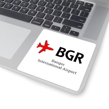 Load image into Gallery viewer, Fly BGR Square Stickers
