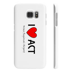 ACT Heart Wpaps Slim Phone Cases