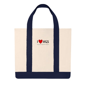 AGS Heart Shopping Tote