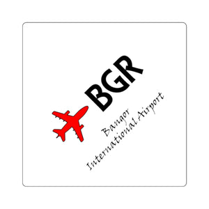 Fly BGR Square Stickers