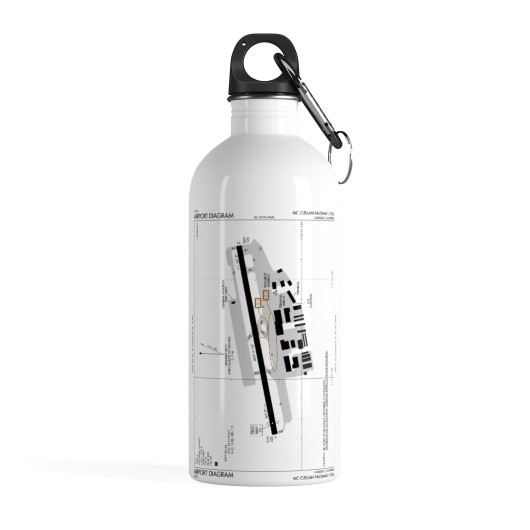 CRQ Stainless Steel Water Bottle