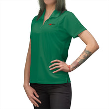 Load image into Gallery viewer, AEX Heart Women's Polo Shirt