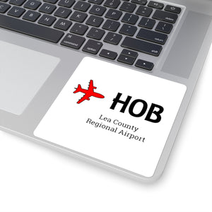 Fly HOB Square Stickers