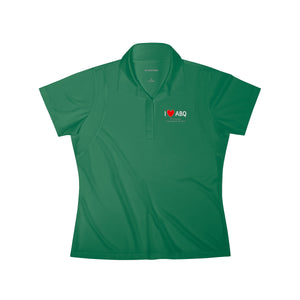 ABQ Heart Women's Polo Shirt