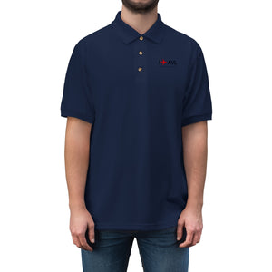 I Fly AVL Men's Jersey Polo Shirt