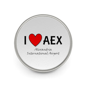 AEX Heart Metal Pin