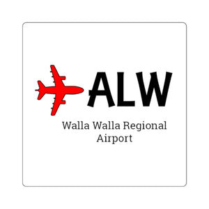 Fly ALW Square Stickers