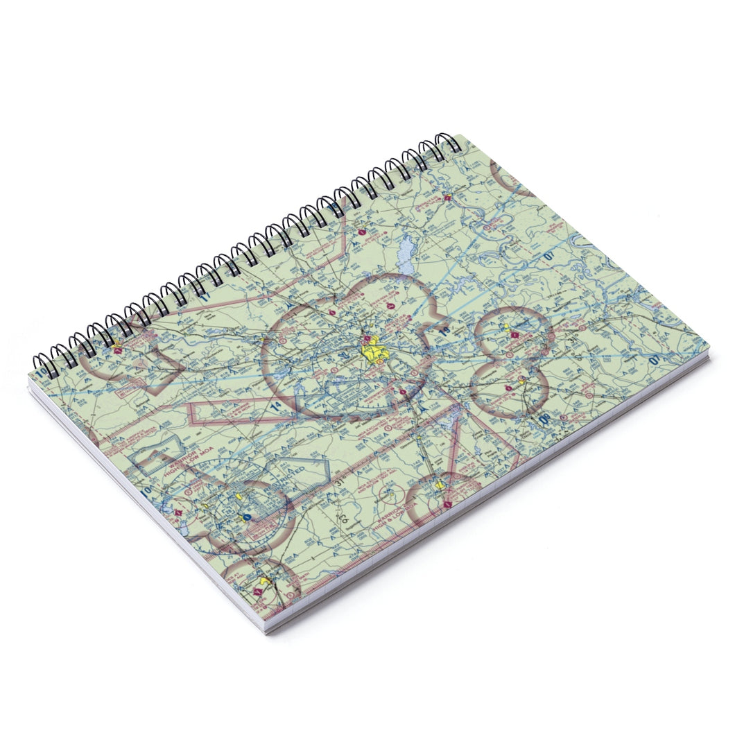 AEX Sectional Spiral Notebook - Ruled Line
