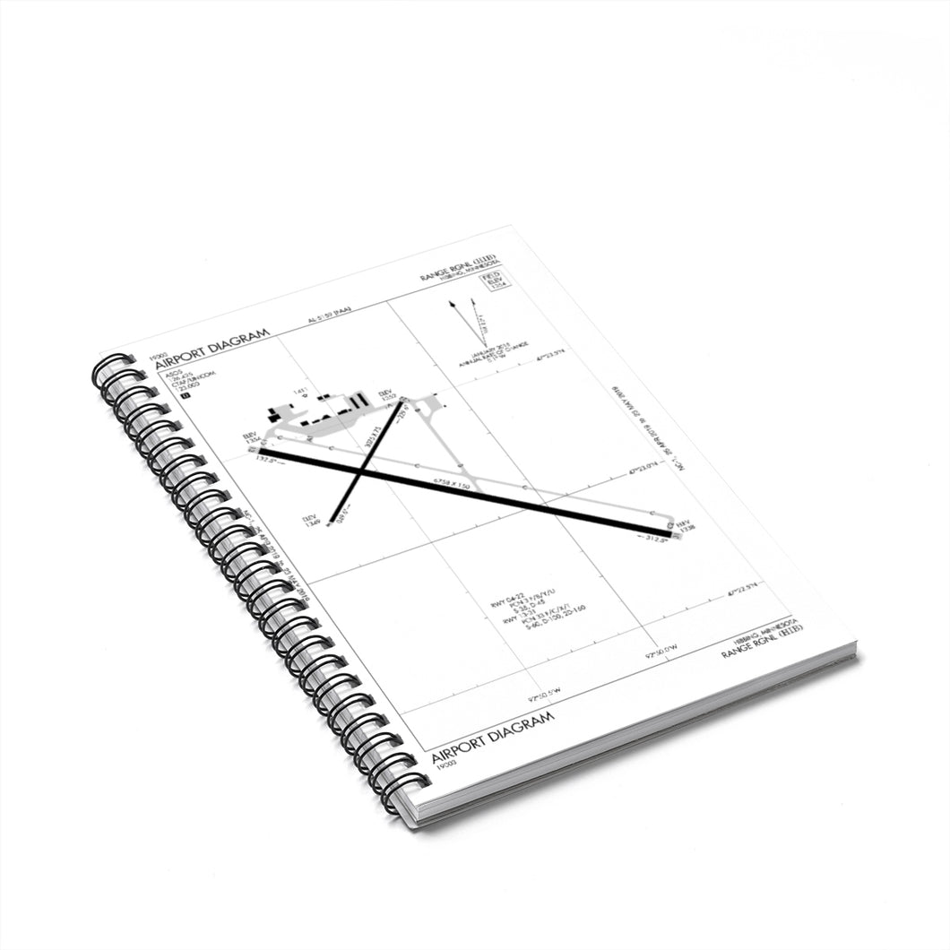 HIB Spiral Notebook - Ruled Line