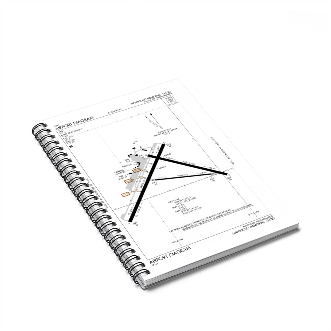 ACK Spiral Notebook - Ruled Line