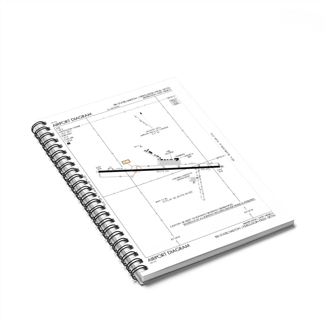 HTS Spiral Notebook - Ruled Line