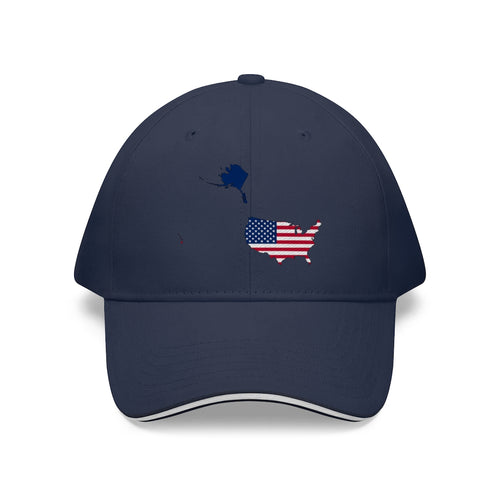 USA Sandwich Brim Hat