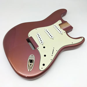 Aged Burgundy Mist Metallic ST body - super deep vintage contours