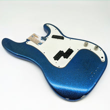 Blue Sparkle Aged Nitrocellulose PB Classic 60s Bass Body