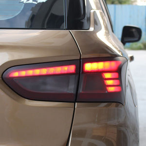 Matt Black Car Taillight Tint Vinyl Smoke Film