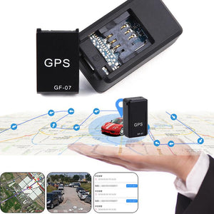 Mini GF07 GPRS Car GPS Tracker Locator Anti-Lost Tracking Voice Control Device