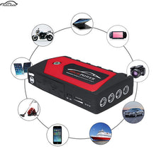 Load image into Gallery viewer, 12V Car Emergency Jump Starter Battery Booster 69800mAh