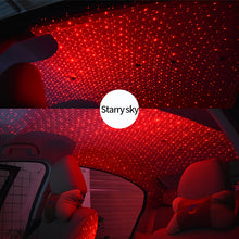Load image into Gallery viewer, Car Styling Decoration Starry LED Light DJ Laser Projector Music With Remote Control