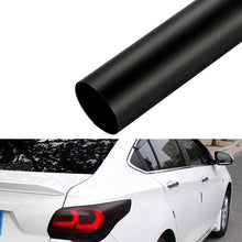Load image into Gallery viewer, Matt Black Car Taillight Tint Vinyl Smoke Film