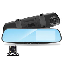 Load image into Gallery viewer, Full HD 1080P Car DVR 4.3 Inch Rearview Mirror Digital Video Recorder