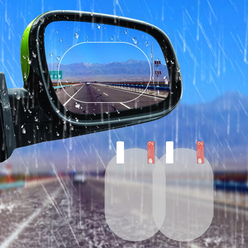 Car Mirror Clear Anti Dazzle Rainproof Protective Film